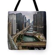 Chicago River Tote Bag