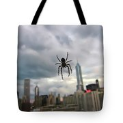Chicago-room With A View Tote Bag
