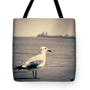 Chicago Seagull Tote Bag