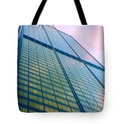 Chicago Sears Willis Tower Pop Art Tote Bag