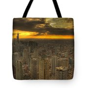 Chicago Setting Tote Bag