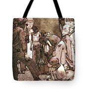 Chicago Shoeshine Boys - Pencil Tote Bag