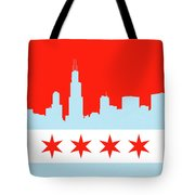 Chicago Skyline 541 1 Tote Bag