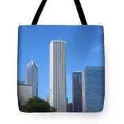Chicago Skyline 6 Tote Bag