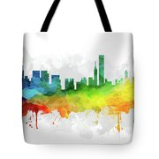 Chicago Skyline Mmr-usilch05 Tote Bag