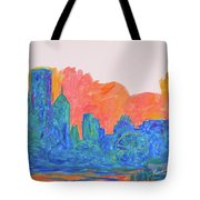 Chicago Spin Tote Bag