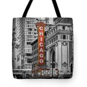 Chicago State Street Tote Bag