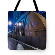 Chicago Steel Bridge Tote Bag