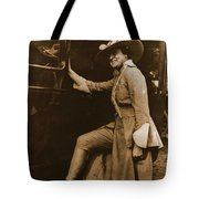 Chicago Suffragette Marching Costume Tote Bag