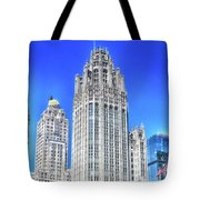 Chicago The Gothic Tribune Tower Tote Bag