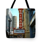Chicago Theater - 1 Tote Bag
