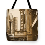 Chicago Theater - 3 Tote Bag