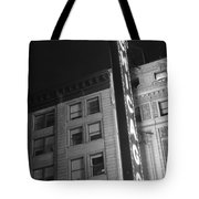 Chicago Theater Tote Bag