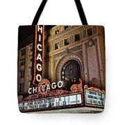 Chicago Theatre Tote Bag