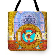 Chicago Theatre Tote Bag