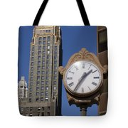 Chicago Time Tote Bag
