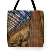 Chicago Union Station Column Tote Bag