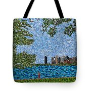 Chicago - View From Lakefront Trail Tote Bag