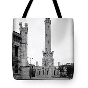 Chicago Water Tower 1933 Tote Bag