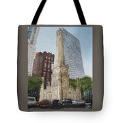 Chicago Water Tower 1b Tote Bag