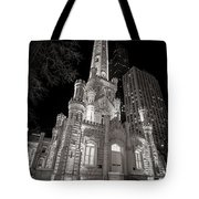 Chicago Water Tower Tote Bag by Adam Romanowicz