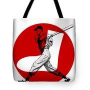 Chicago White Sox 1960 Scorebook Tote Bag