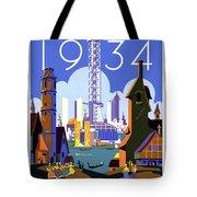 Chicago, World Fair, Vintage Travel Poster Tote Bag