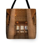 Chicagos Union Station Entry Tote Bag