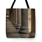 Chicagos Union Station Exterior Tote Bag