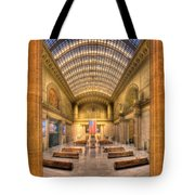 Chicagos Union Station Tote Bag