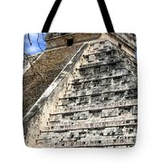 Chichen Itza Up Close Tote Bag
