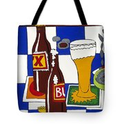 Chichis Y Cervesas Tote Bag by Rojax Art
