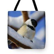 Chickadee... Tote Bag