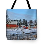 Chickasaw Winter Tote Bag