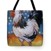 Chicken And Stars Tote Bag
