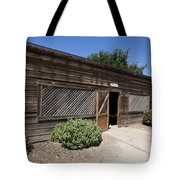 Chicken Coop At Ardenwood Historic Farm Tote Bag
