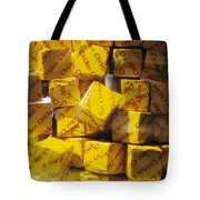 Chicken Cubes Tote Bag