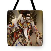 Pow Wow Chicken Dancer 12 Tote Bag