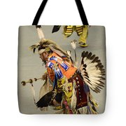 Pow Wow Chicken Dancers 3 Tote Bag