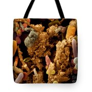 Chicken Droppings Tote Bag