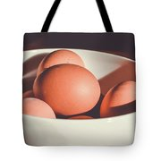 Chicken Eggs Tote Bag