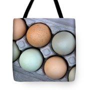Chicken Eggs In Carton Tote Bag