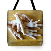 Chicken Feet Without Toenails Tote Bag