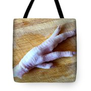 Chicken Foot Tote Bag
