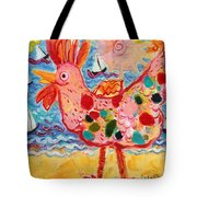 Chicken Of The Sea #2 Tote Bag
