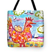 Chicken Of The Sea Tote Bag