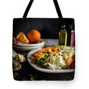 Chicken Salad With An Orange Twist Tote Bag