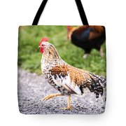 Chickens In Bird In Hand Tote Bag