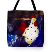 Chickens In The Kitchen Tote Bag