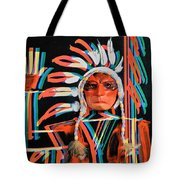 Chief Brill Yount Tote Bag